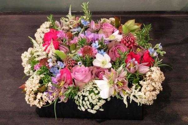 Cofanetto fiori festa della mamma